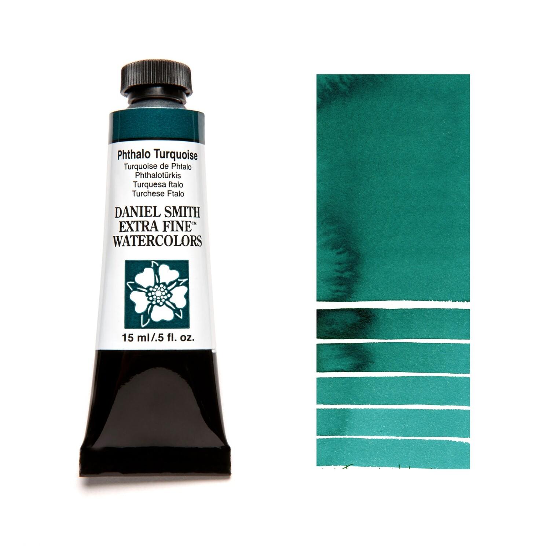 Paint Watercolour Phthalo Turquoise, 15ml Daniel Smith Series 1