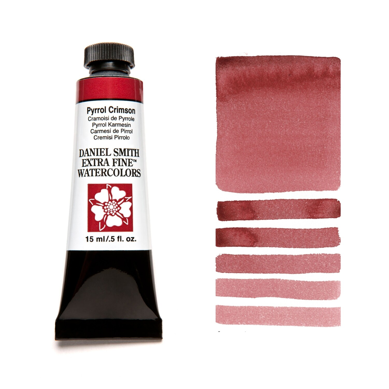 Paint Watercolour Pyrrol Crimson, 15ml Daniel Smith Series 2