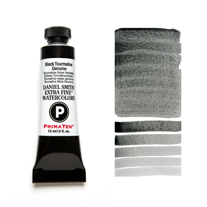 Paint Watercolour Primatek Black Tourmaline Genuine, 15ml Daniel Smith Series 3