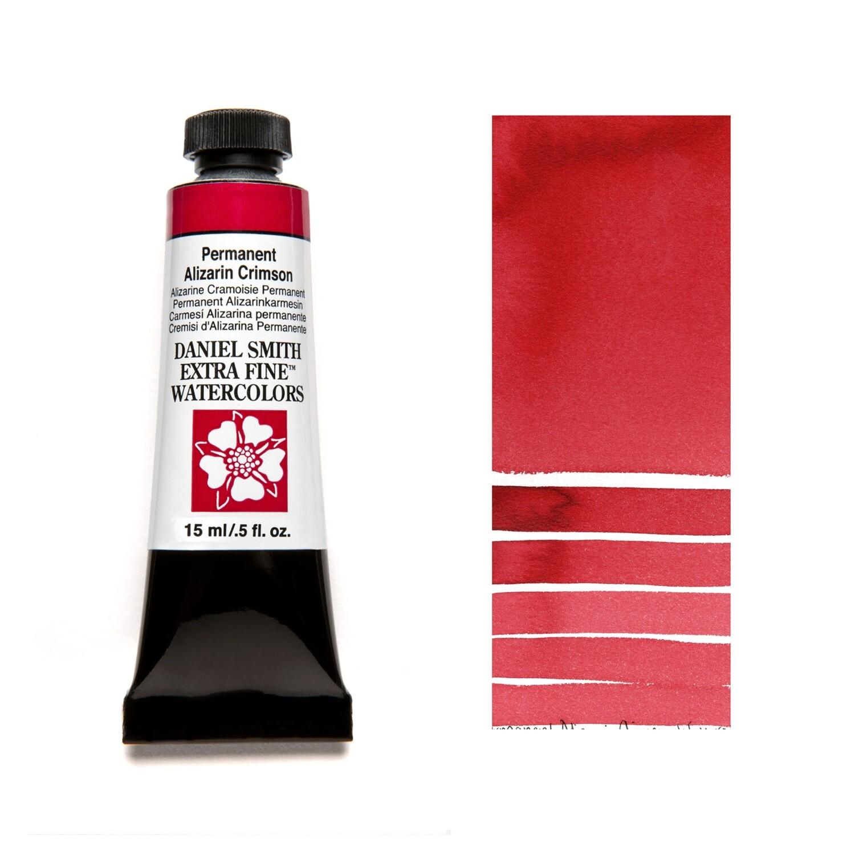 Paint Watercolour Permanent Alizarin Crimson, 15ml Daniel Smith Series 2