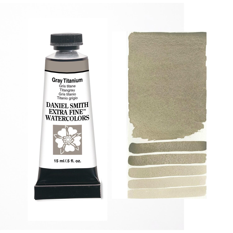 Paint Watercolour Gray Titanium, 15ml Daniel Smith Series 1