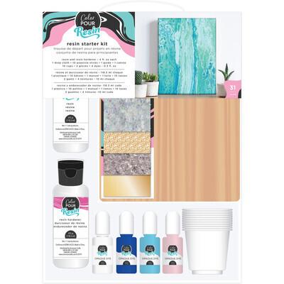 Resin, Starter Kit Resin, Wood Board, Colour Tint