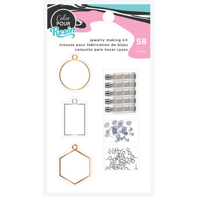 Resin, Jewelry Making Kit Color Pour