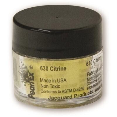Pigment Powdered, Pearl Ex Citrine, 3G