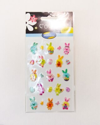 Stickers, Cooky Rabbits, 25 Sticker