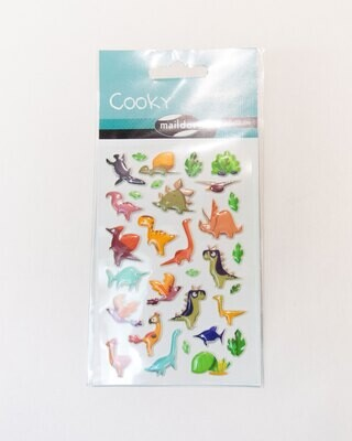 Stickers, Cooky Dinosaurs, 31 Sticker