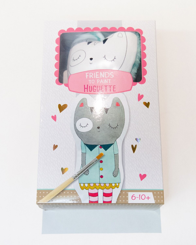 Stuffy Paint Kit, Freinds to Paint Huguette, 14 x 5 x 28 cm