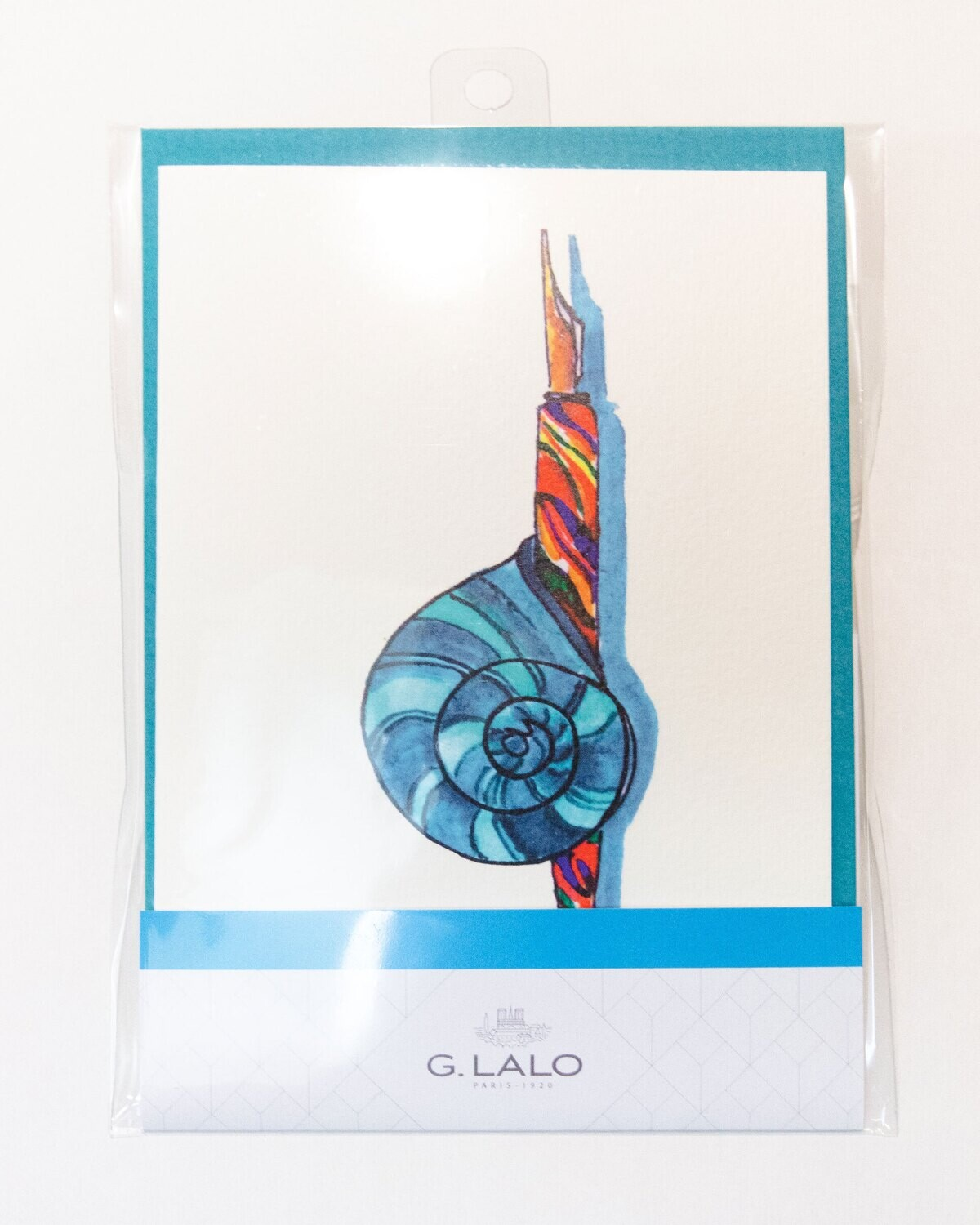 Cards with Envelopes Blue G.Lato Luxury Paper