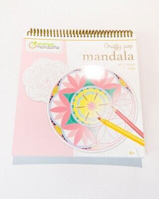 Colouring Book Mandalas, 36 Page