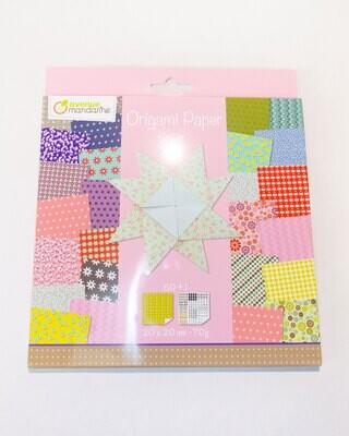 Origami Paper Flowers Colour, 60 Pages, 20 x 20 cm