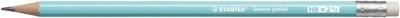 Pencil Hb Swano Pastel Baby Blue Barrel 12/Bx