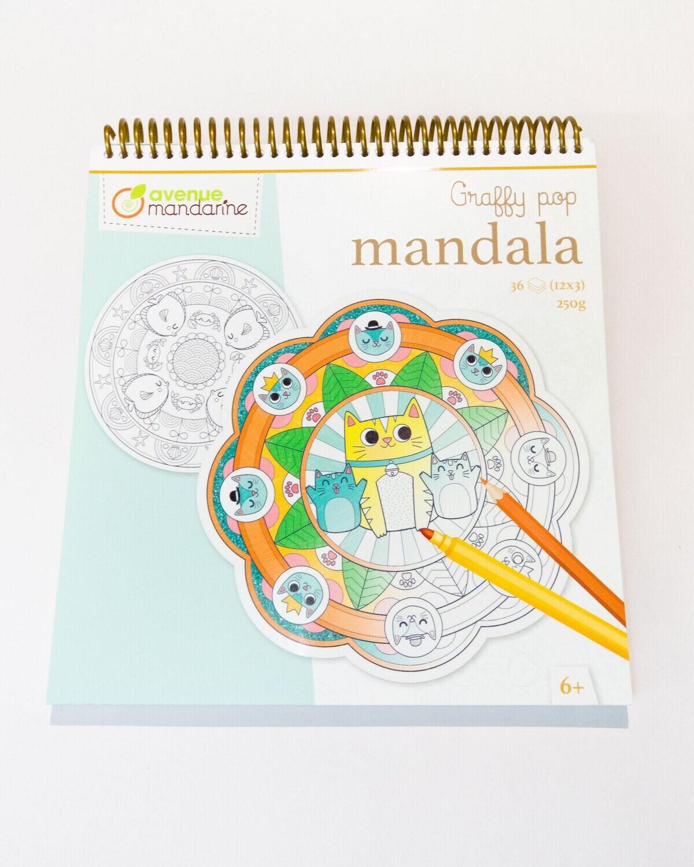 Colouring Book Animals Mandalas, 36 Page