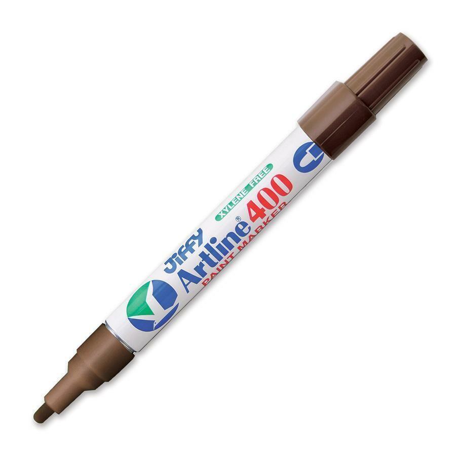 Marker, Jiffy, Paint Brown, 2.3 Mm, Single