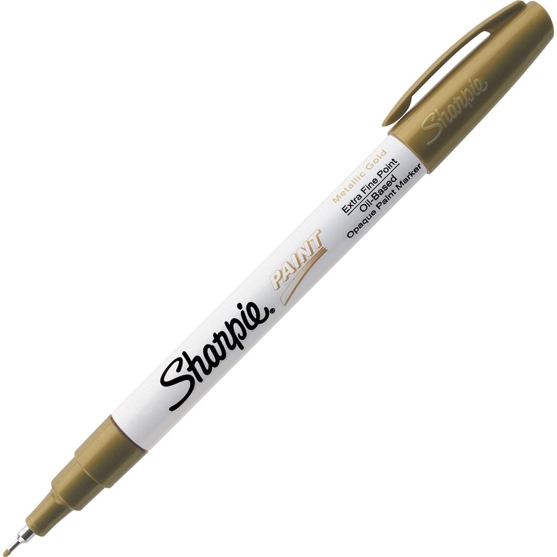 Marker, Sharpie, Paint, Extra Fine Gold, Singles
