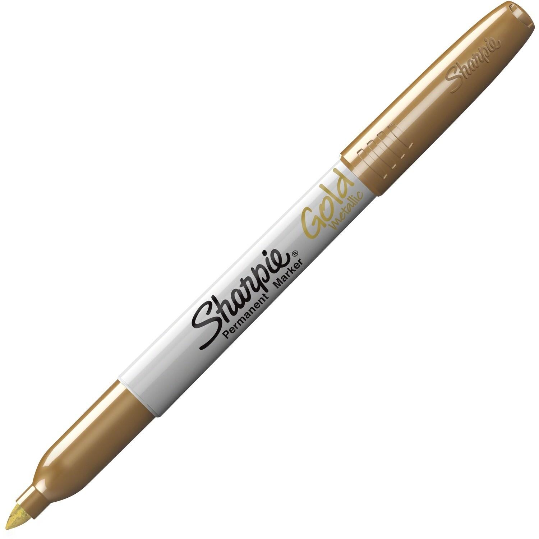 Marker, Sharpie, Fine Gold, Single