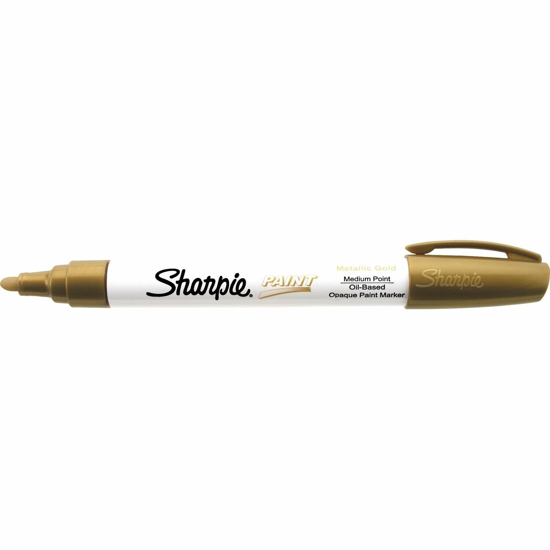 Marker, Sharpie, Paint, Medium Gold, Singles