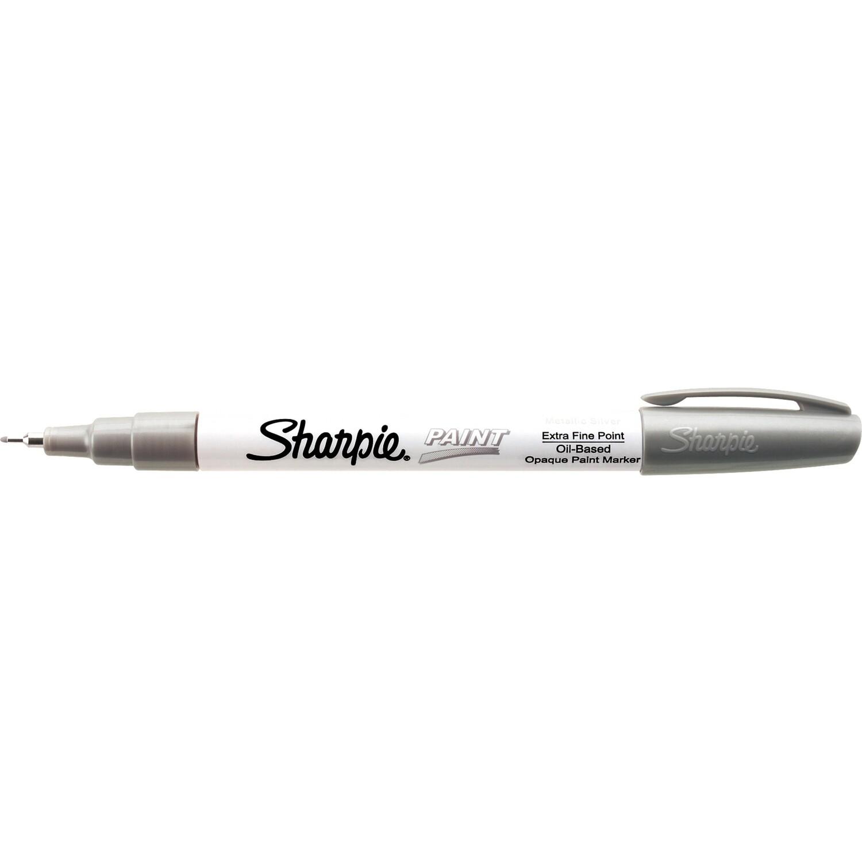 Marker, Sharpie, Paint, Extra Fine Silver, Singles