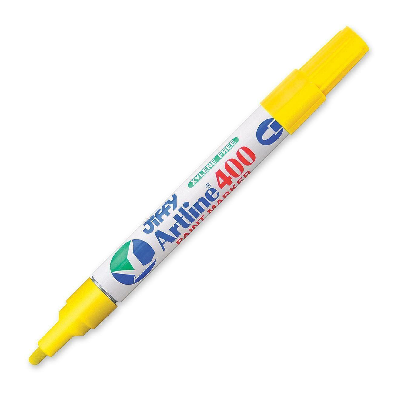 Marker, Jiffy, Paint Yellow, 2.3 Mm, Single