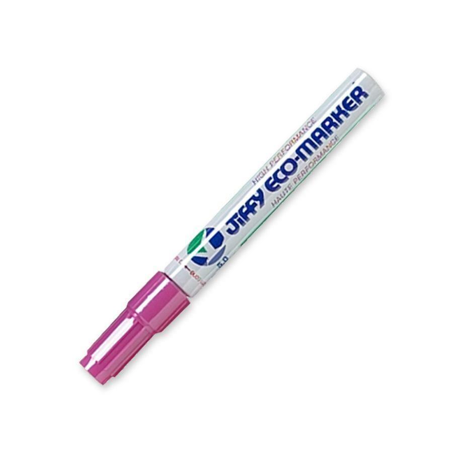 Marker, Refillable, Medium, Chisel Pink, Single