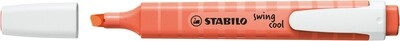 Highlighter, Swing Cool Pastel Coral Red, Single
