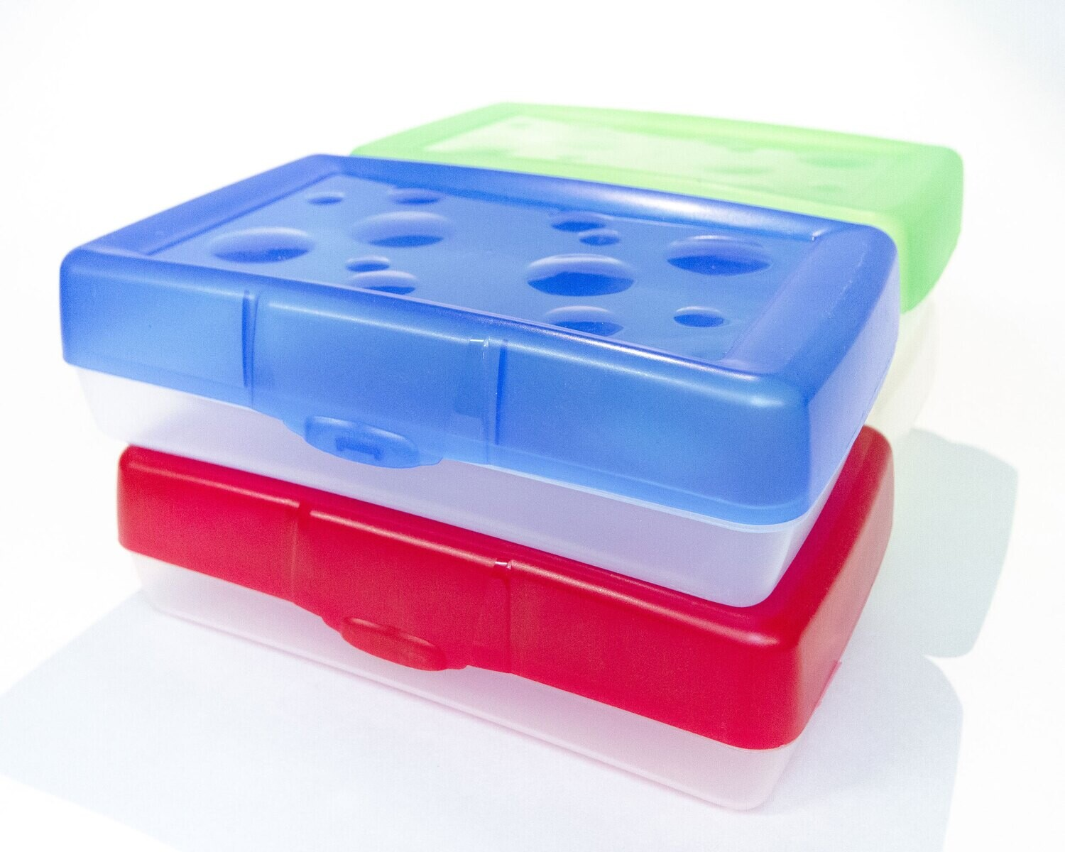 Pencil Box Assorted Colours, Poly