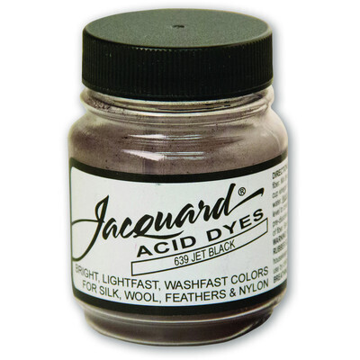Fabric Acid Dyes, Jet Black 14g