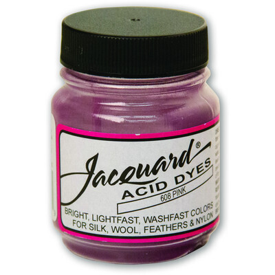 Fabric Acid Dyes, Pink 14g