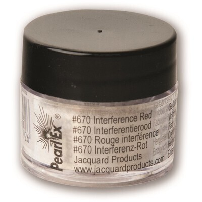 Pigment Powdered, Pearl Ex Interference Red, 3G