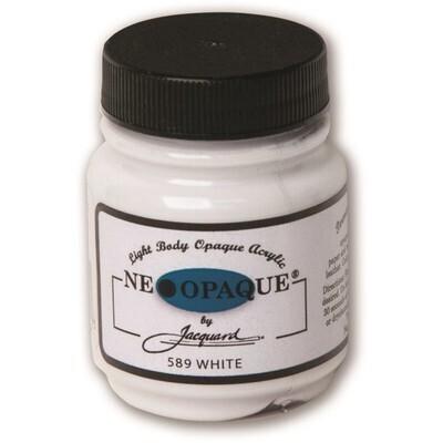 Fabric Paint, White Neopaque, 2.5fl oz