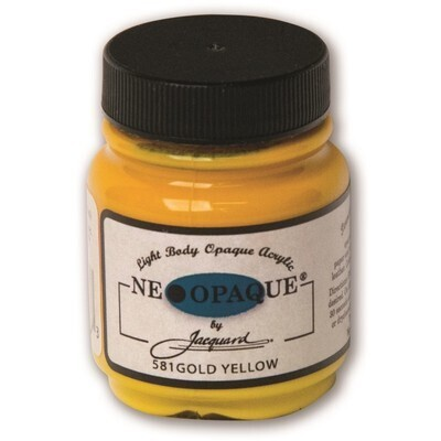 Fabric Paint, Gold Yellow Neopaque, 2.5fl oz