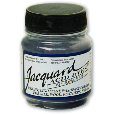 Fabric Acid Dyes, Royal Blue 14g