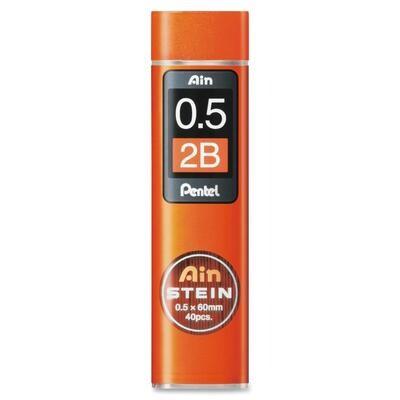 Lead, 0.5mm HB, Pentel 60mm, 40 Pack