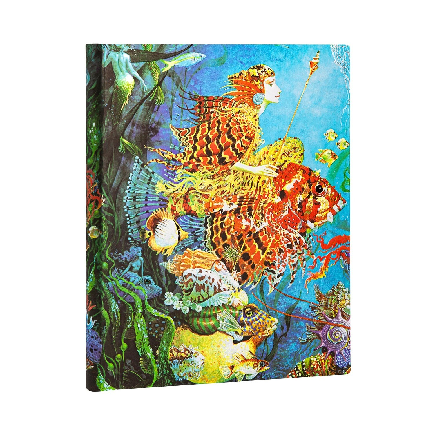 Journal, Lined, Ultra Hardcover Sea Fantasies