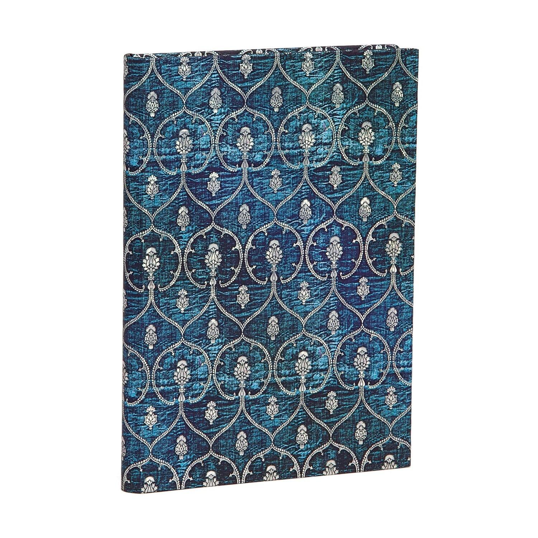Journal, Unlined, Midi Hardcover Blue Velvet