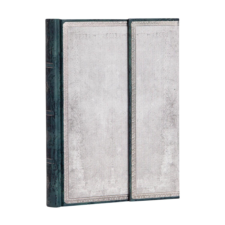 Journal, Unlined, Midi Hardcover Wrap Flint