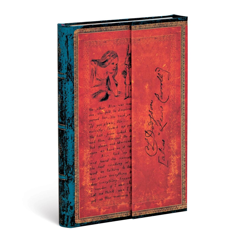 Journal, Lined, Mini Hardcover Lewis Carroll, Alice In Wonderland