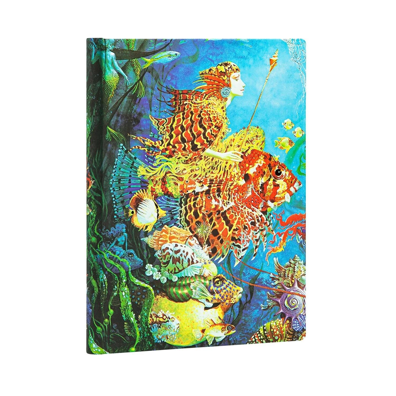 Journal, Unlined, Midi Hardcover Sea Fantasies