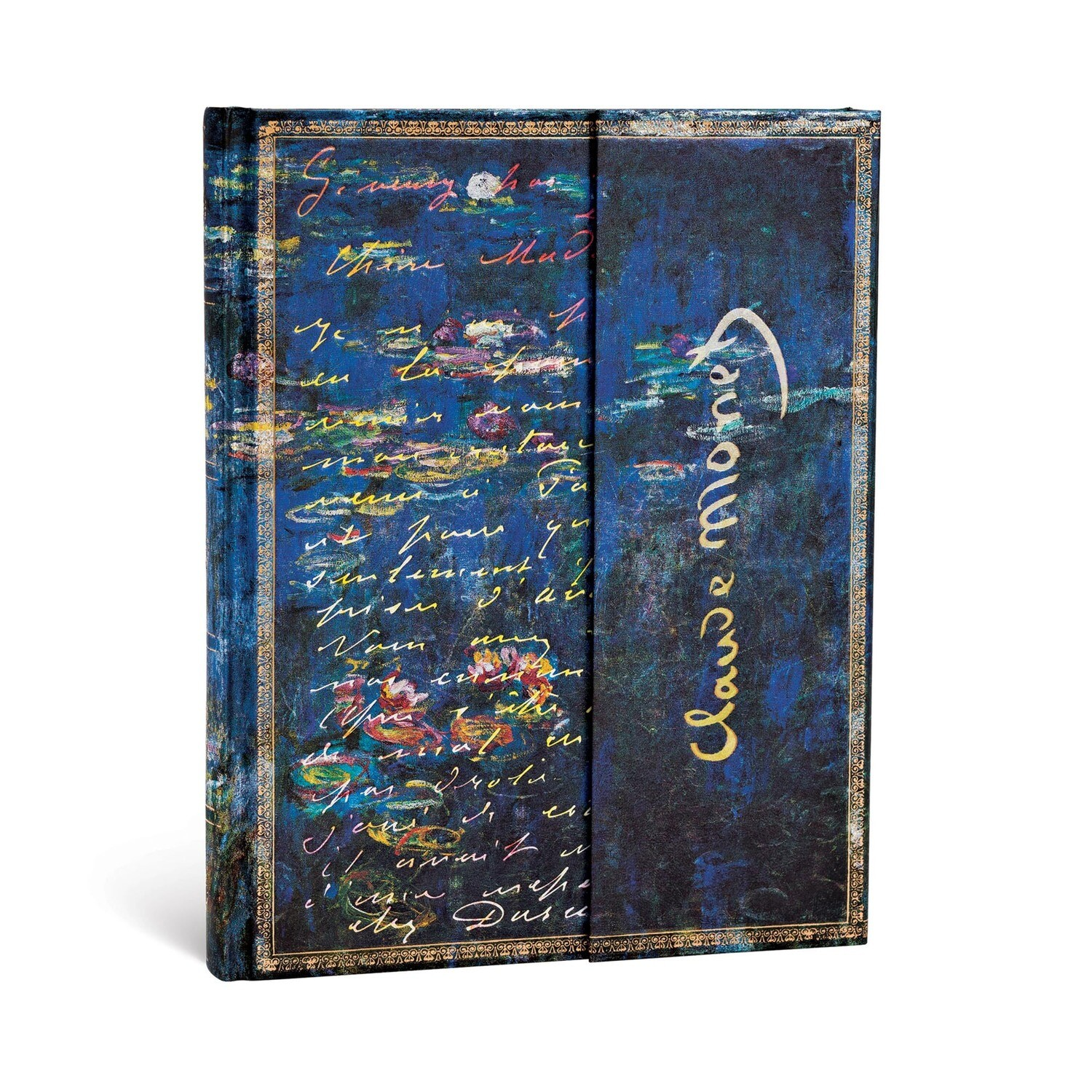 Journal, Unlined, Ultra Hardcover Monet (Water Lilies), Letter to Morisot