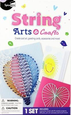 Book Kit: Play Box String Arts & Crafts