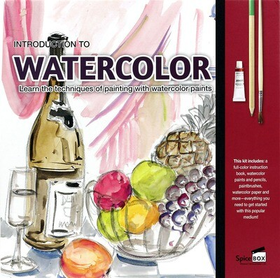Book Kit: Intro To Watercolour