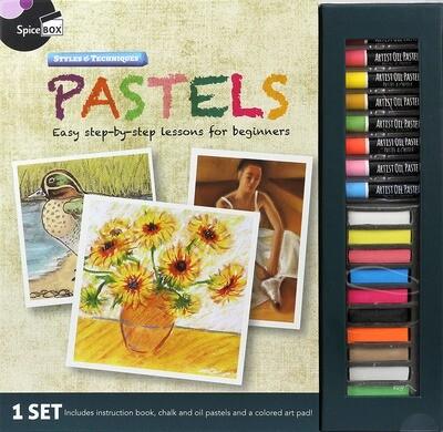 Book Kit: Master Class Pastels