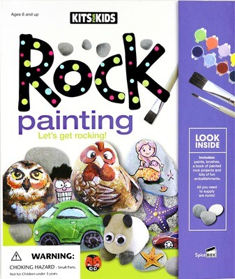 Book Kit: Kits For Kids Rock Painting
