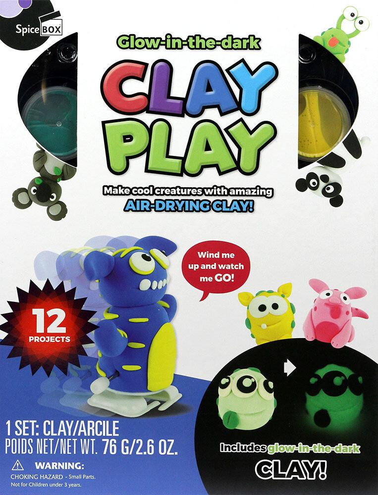 Book Kit: Make & Play Clay Play