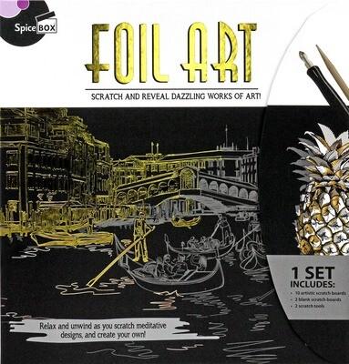 Book Kit: Skecth Plus Deluxe Foil Art