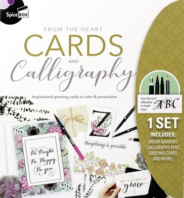 Book Kit: Skecth Plus Deluxe Cards & Calligraphy
