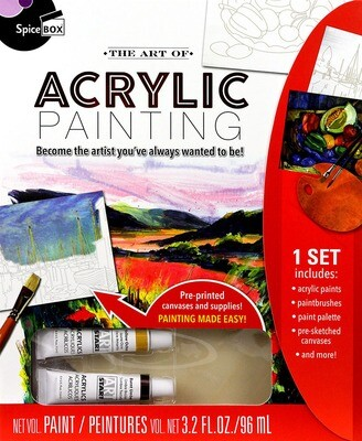 Book Kit: Art Of Acrylic Painting