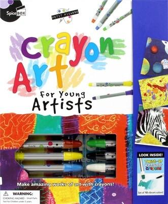 Book Kit: Petit Picasso Crayon Art