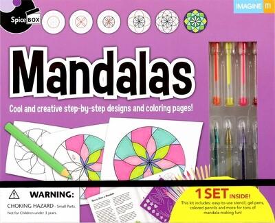 Book Kit: Imagine It 2.0 Mandalas