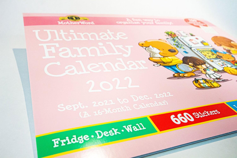 "Calendar Ultimate Family 18X13.5"" MWFC02-28"