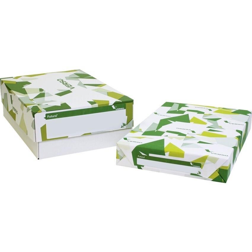 Paper, 32lb, Tabloid 96 Bright White Gloss, 250 Pack, Futura